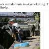 Washington Post: Latin Amerika'da adam öldürme vakaları artıyor