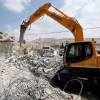 Siyonist İşgalci Rejim Batı Şeria'da Bir Filistinliye Ait Binayı Yıktı