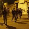 Barbar İsrail Rejimi, Batı Şeria'da 13 Filistinliyi Gözaltına Aldı.
