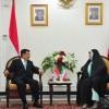 Hasan Ruhani'nin Mesajı, Endonezya Cumhurbaşkanı'na Teslim Edildi
