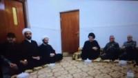 Foto: Haşdi Şabi Komutanları Operasyon Öncesi İslam Alimi Mukteda Sadr'ı Ziyaret Etti