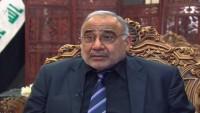Abdulmehdi: Irak'ın İran'la ilişkileri başkalarından ektilenmez