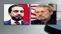 İran ve Irak meclis başkanları telefonda görüştü