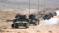 Irak Ordusu IŞİD Teröristlerini Kuşatmaya Aldı