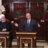 Hasan Ruhani ile Iraklı mevkidaşı ortak basın toplantısında konuştu