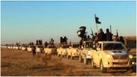 Musul'da IŞİD konvoyu havaya uçuruldu