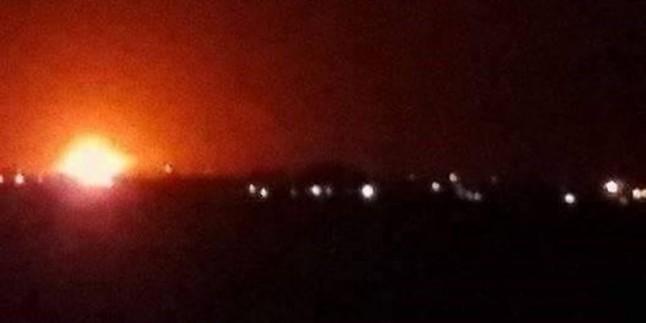Şam'ın güneyinde 8 ton patlayıcı madde bulundu