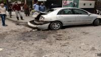 Teröristler Şam Kırsalını Füzelerle Vurdu