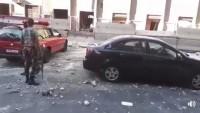 Şam'da İl Emniyet Müdürlüğüne Canlı Bomba Saldırısı Çökertildi