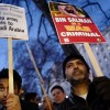 Bin Selman Londra'da Protesto Edildi