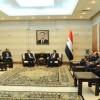 Suriye Başbakanı İran Sağlık Bakanı İle Bir Araya Geldi