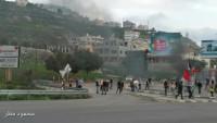 Filistin Halkı Sokaklara Dökülerek İşgalcilerle Çatıştı