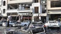 Vahşi Teröristler Homs'ta İki Bombalı Eylem Düzenledi: 19 Şehid