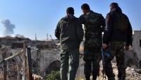 Suriye Ordusu Palmira Yakınlarındaki Ham Petrol Pompalama İstasyonunu Mayınlardan Temizliyor