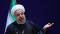 Hasan Ruhani: Kendi halkımıza dayanmaktayız ve hiçbir tehditten kaygılı değiliz