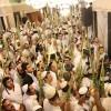 20 Bini Aşkın Yahudi Yerleşimci İbrahim El-Halil Camii'nde Ayin Yaptı