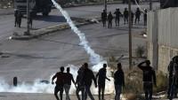 Filistin Batı Yaka'da Meydana Gelen Çatışmalarda Yaralananlar Oldu