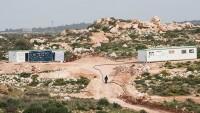Yahudi Yerleşimciler Filistinlilere Ait Arazilere Konteynır Evler Yerleştirdi