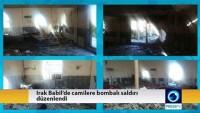 Teröristler Irak'ta 3 camiye saldırı düzenledi