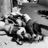 Foto: Siyonistler 68 Yıl Önce Deir Yasin Köyünde Filistinlileri Böyle Katletti