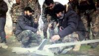 Suriye Ordusu IŞİD'e Ait Bir Keşif Uçağını Düşürdü