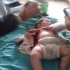 Nusra Teröristleri Geçen Yıl Dört Yaşındaki Çocuğu Şehid Etmeleri Ardından Dünde 3 Aylık Kardeşini Yaraladılar