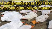 Mina katliamında en az 133 Türkiyeli hacı öldü
