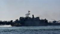 İran'ın en büyük savaş gemisi denizlere dönüyor