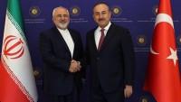 Zarif ve Çavuşoğlu'nun Suriye istişareleri
