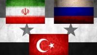 İran-Türkiye-Rusya Suriye'de garantör