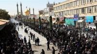 İran'ın Azerbaycan halkı Aşura yas etkinliği düzenledi