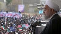 Ruhani: Büyük güçler terör kartını oynuyor