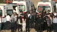 Antalya'da patlama; ölü ve yaralılar var