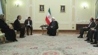 Hasan Ruhani üç Büyükelçinin güven mektubunu kabul etti