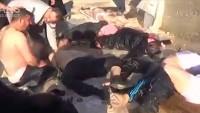 Suriye ordusu, ÖSO'nun kimyasal silah deposunu vurdu