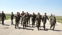 Suriyeli Komutanlar Şayrat Üssünü Ziyaret Etti