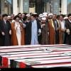 Foto: Hz. Zeynep'in Türbesinde Fua ve Keferya Şehitlerinin Cenaze Merasimi
