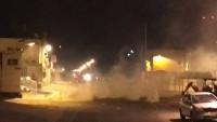 Bahreyn Rejim Güçleri Ed-Deraz Şehitlerine Düzenlenen Cenaze Törenine Saldırdı