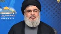 Seyyid Hasan Nasrullah: Arsal'ın kurtuluşunda Suriye'nin rolü önemliydi