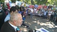 Türkiye Halkı Siyonist İsrail'e Lanet yağdırdı