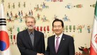 Laricani:İran ve Güney Kore ilişkileri yeniden ihya edilebilir
