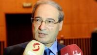 Faysal Mikdad:Türkiye'nin işgalciliği, Astana hedefleriyle çelişiyor