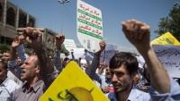 Tahran halkından Filistin ve Miyanmarlı müslümanlara destek