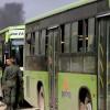 Doğu Guta'dan beş bin silahlı terörist ve yakınları çekildi