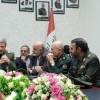 General Hatemi, Haşed-ul Şaabi Komutanı ile görüştü