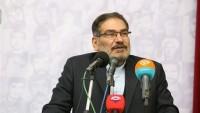 Şemhani: Bölgedeki Buhranlar ABD'nin Siyonist Rejimi Himaye Etmesi Nedeniyle Oluşuyor