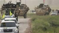 ABD ve ÖSO teröristleri ortak tatbikat yaptı