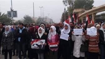 Suriye halkı YPG'yi protesto etmeyi sürdürüyor