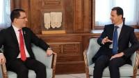 Beşar Esad Venezuela Dışişleri Bakanı ile görüştü
