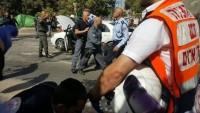 Foto: Kudüs'te Şehadet Eylemi: 3'ü Ağır 8 Siyonist Polis Yaralı
